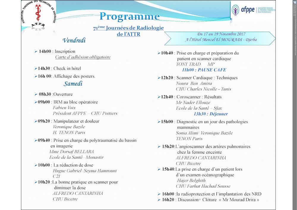 Programme attr