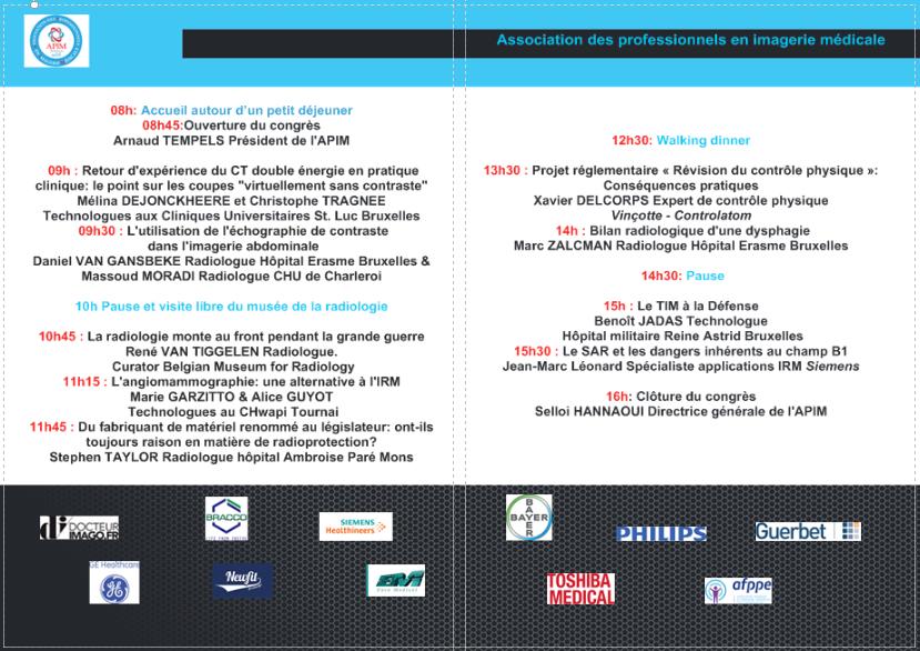 Programme congres 30 septembre