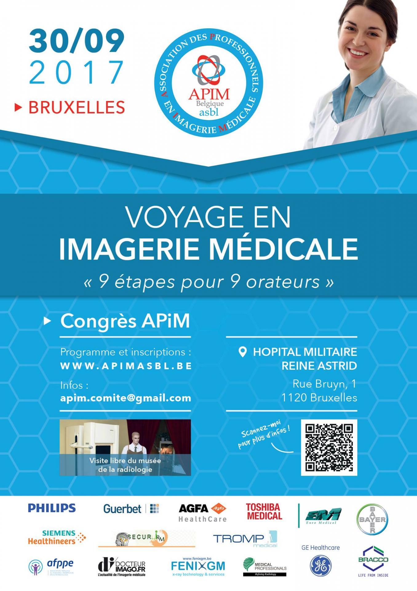 Voyage en imagerie médicale: 9 étapes pour 9 orateurs